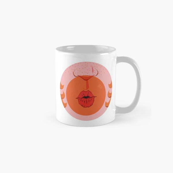 Orange Bubblegum Balloon  Classic Mug