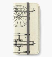 Machine Gun-1865 iPhone Wallet/Case/Skin