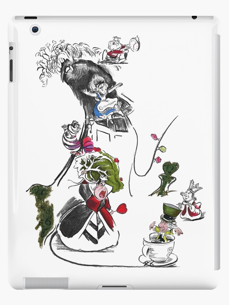 Story Lines - Alice in Wonderland Characters by Douglas Rickard