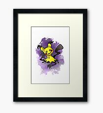 Mimikkyu Pokemon  Framed Print