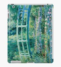 1899-Claude Monet-Water Lilies and Japanese Bridge iPad Case/Skin