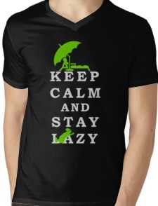 Keep Calm and Stay Lazy VRS2 T-Shirt