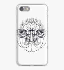 ornamental Lotus iPhone Case/Skin