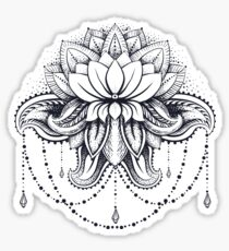 ornamental Lotus Sticker