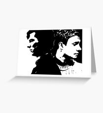 Sherlock and John, Dark and Light Greeting Card