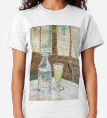 1887-Vincent van Gogh-Café table with absinth-33x46 Classic T-Shirt