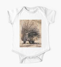 Porcupine and its Quills - African Wildlife One Piece - Short Sleeve