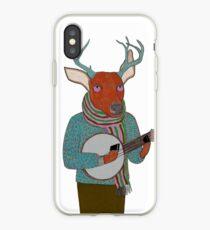 Banjo Deer iPhone Case