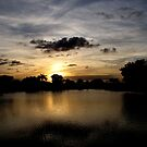 Under a Dark Cloud~ an Uneasy Sunset by SummerJade