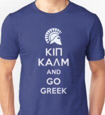 Keep calm and go Greek T-Shirt