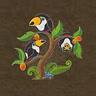 Toco Toucan Tree by TeaToucan