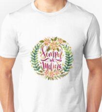 Semper ad Meliora Toward better things Latin phrase Unisex T-Shirt