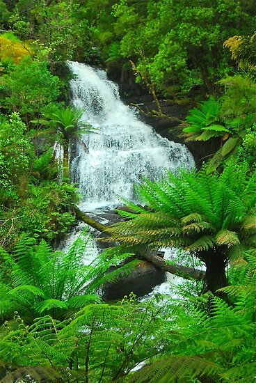 Triplet Falls by Penny Smith
