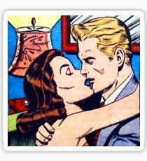 The Kiss Pop art Sticker