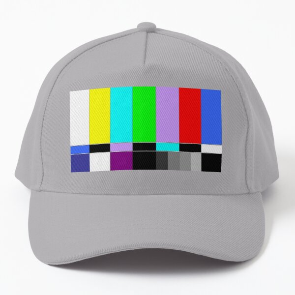 Retro No Signal Tv Baseball Cap