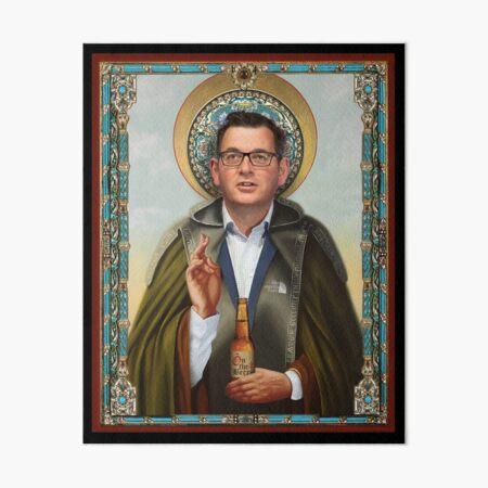 Saint Dan Andrews Art Board Print