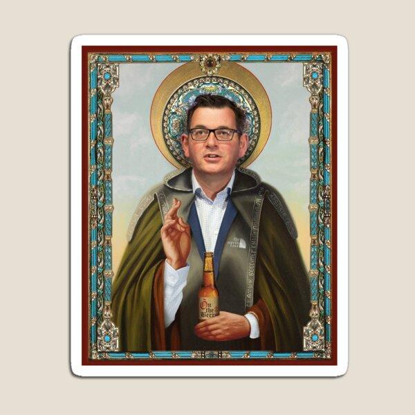 Saint Dan Andrews Magnet