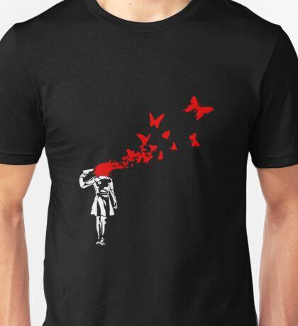 Banksy - Girl Suicide Unisex T-Shirt
