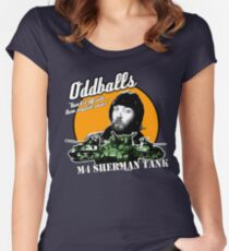 Oddball : Kelly's Heroes Women's Fitted Scoop T-Shirt