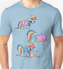 Rainbow Dash Nyan cat Unisex T-Shirt
