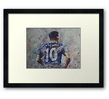 Eden Hazard - Portrait 1 Framed Print