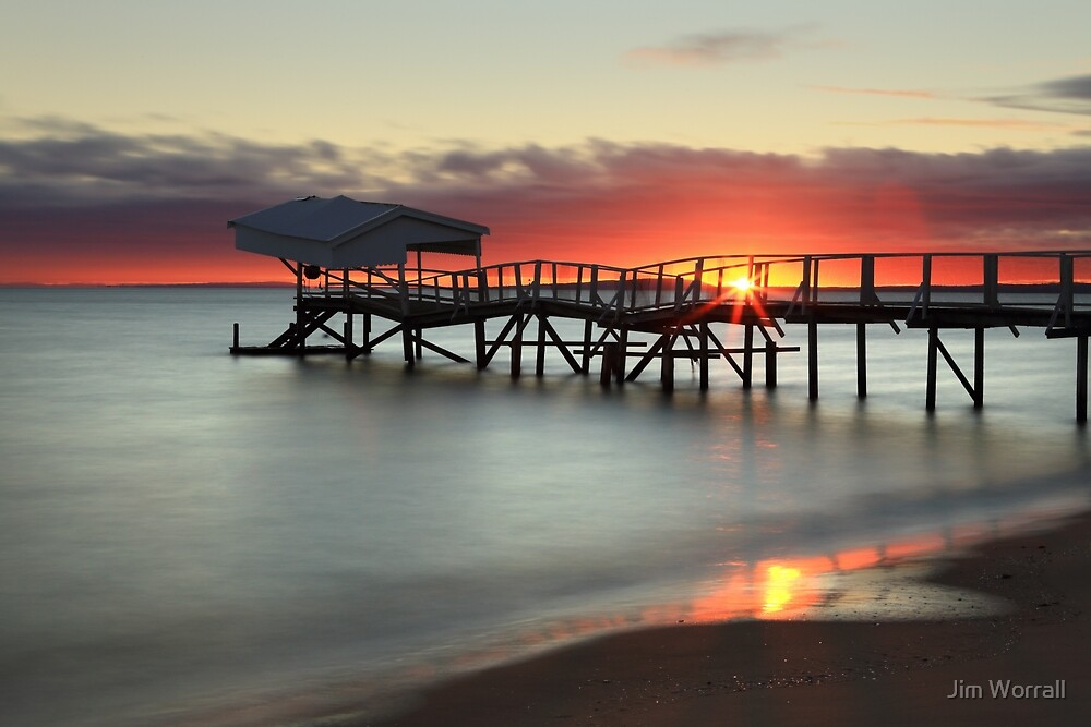 Sunrise at Sullivan Bay - Sorrento by Jim Worrall