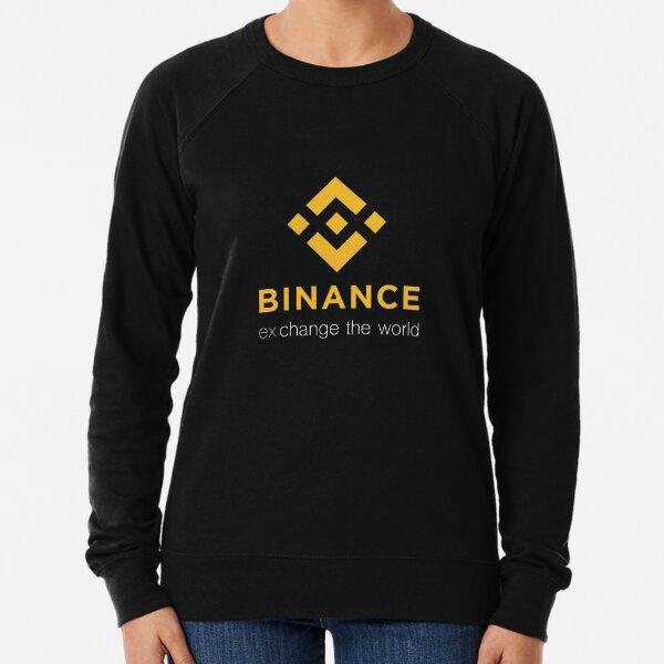 Binance Exchange Le Monde Crypto Sweatshirt léger