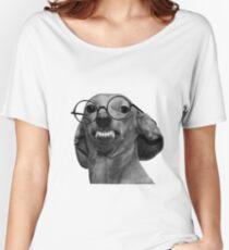 Nerd Dog Women's Relaxed Fit T-Shirt