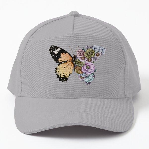 Schmetterling in Blüte II Baseball Cap