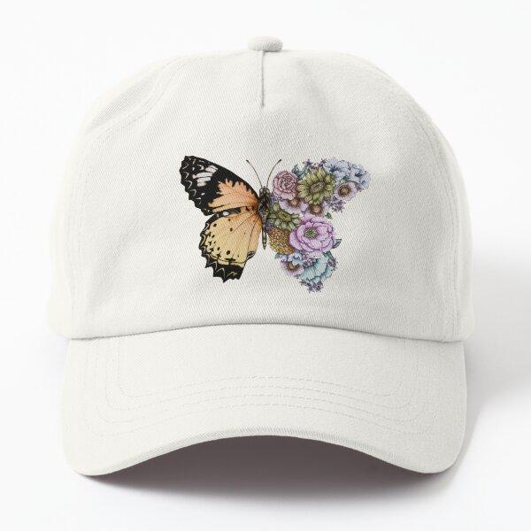 Butterfly in Bloom II Dad Hat