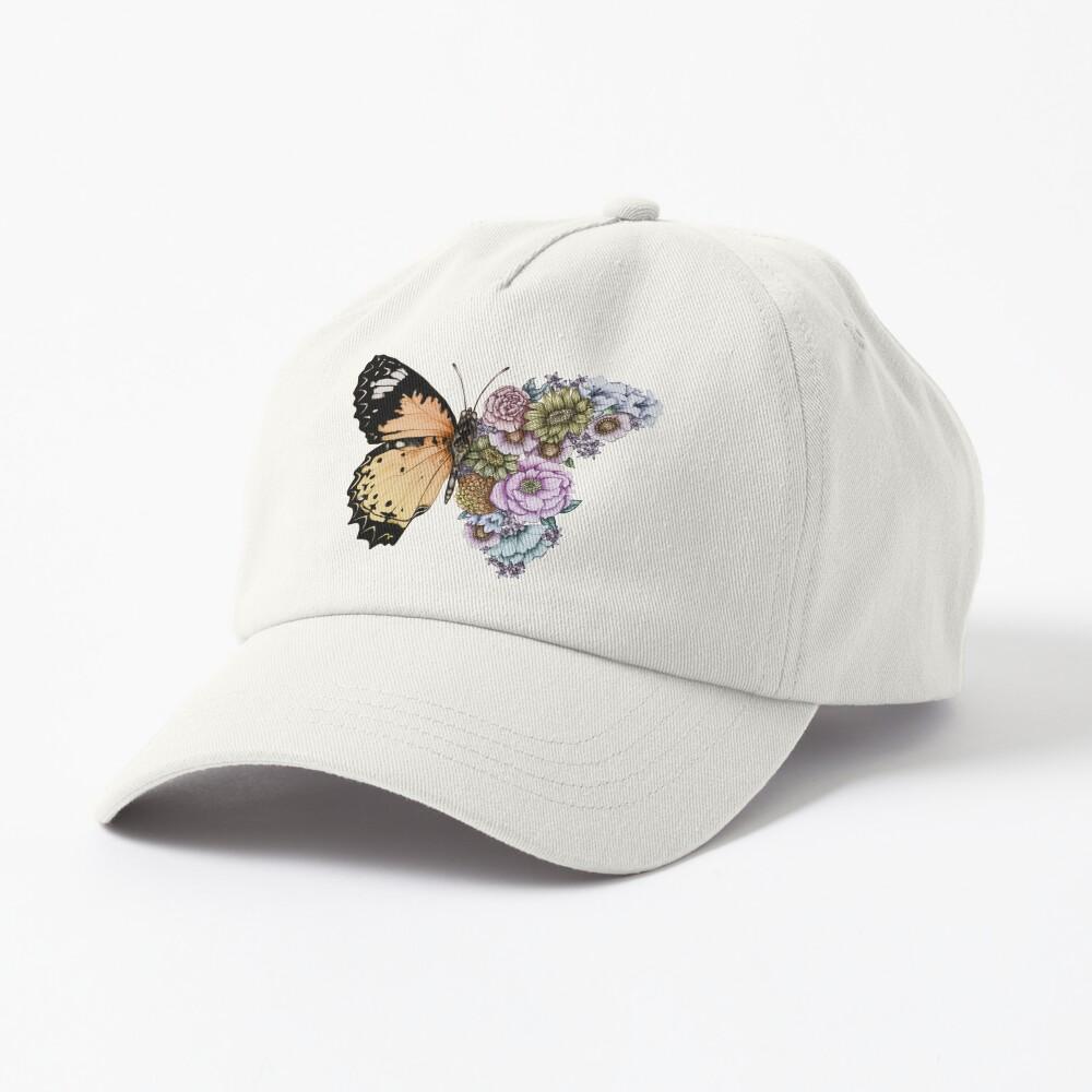 Butterfly in Bloom II Cap