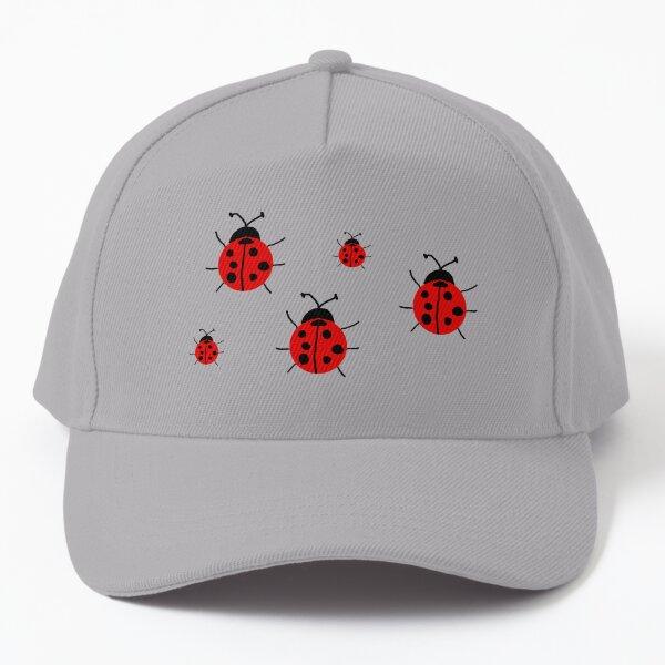 Ladybug Pattern Baseball Cap