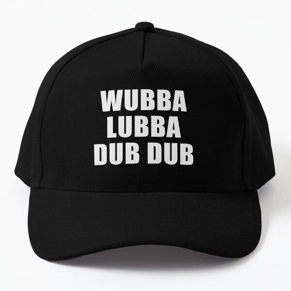 Wubba Lubba Dub Dub (Black) Baseball Cap