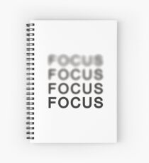 Focus Spiral Notebook