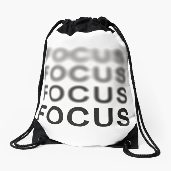 Focus Drawstring Bag