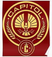 The Hunger Games Capitol Seal Poster