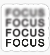 Focus Sticker