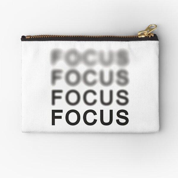 Focus Zipper Pouch