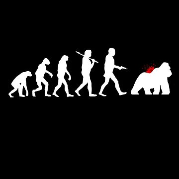Evolution Harambe by glrdokia