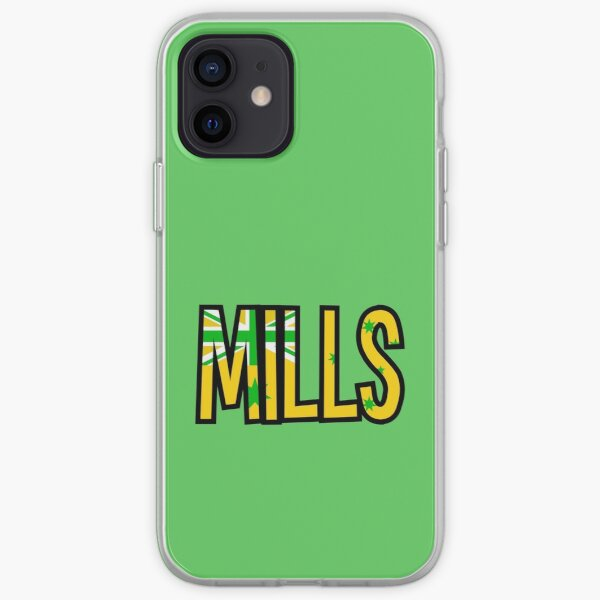 Patty Mills Green & Gold iPhone Soft Case