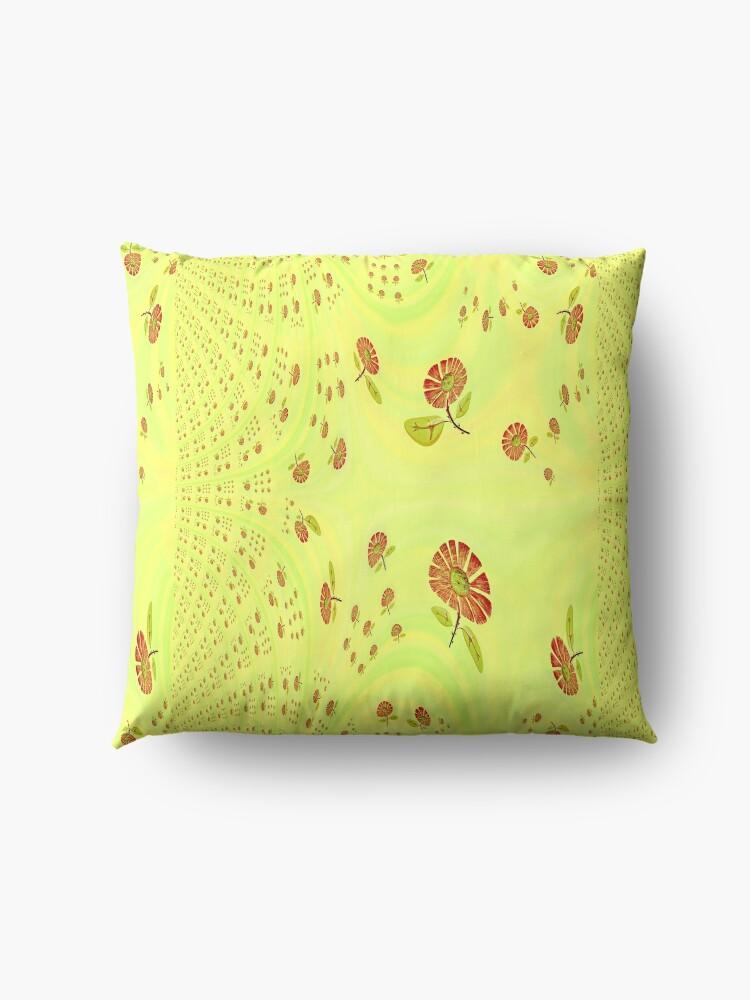 Alternate view of  Garden Feng Shui Floor Pillow