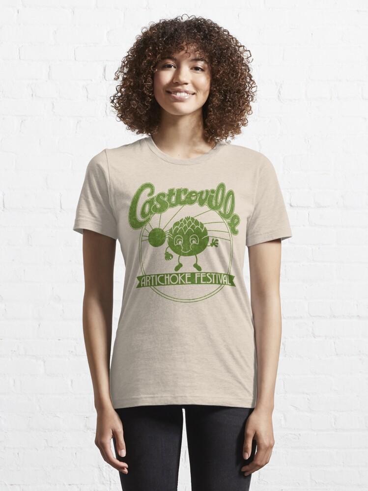 Alternate view of Strange Artichoke Essential T-Shirt