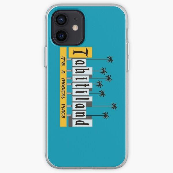 Tahiti-terre Coque souple iPhone