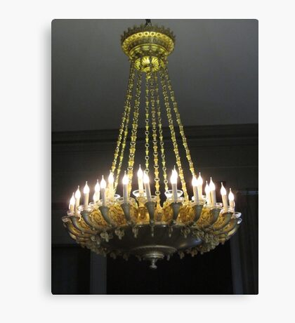 Royal chandelier Canvas Print