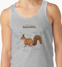 Anatomy of a Squirrel Tank Top
