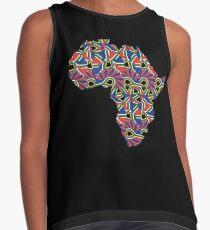 Africa Pattern  Contrast Tank