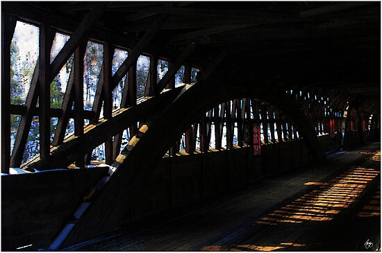 Trusses and Light by Wayne King