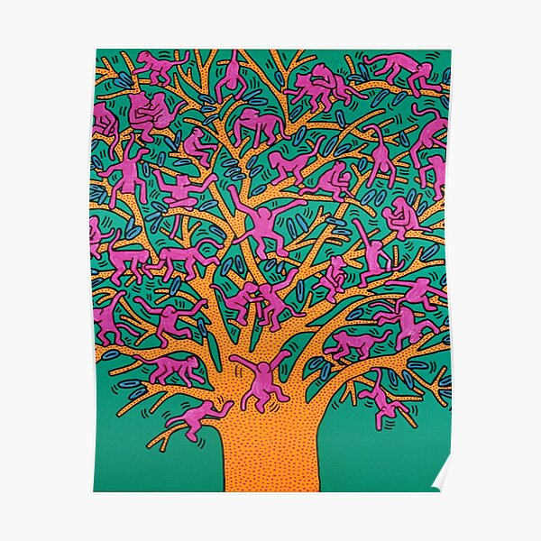 the Tree of monkeys Poster