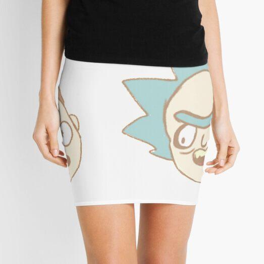 Rick n Morty Chibis Mini Skirt