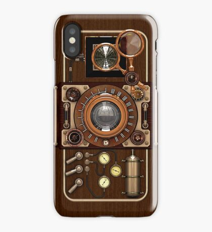 Stylish Steampunk Vintage Camera (TLR) No.1 Steampunk Phone Cases iPhone Case/Skin
